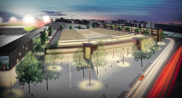 Illustration des Entwurfs von Störmer Murphy Partner Architekten.